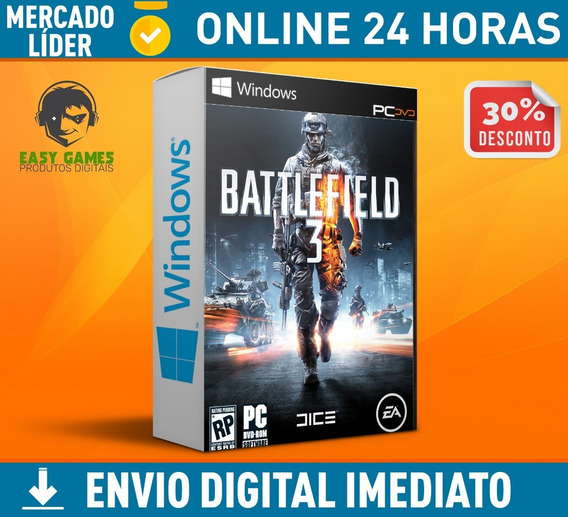 Battlefield 3 - Pc + Envio Na Hora 0 Segundos