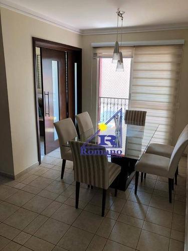 Apartamento Com 3 Dormitórios À Venda, 61 M² Por R$ 435.000,00 - Ipiranga - São Paulo/sp - Ap4342
