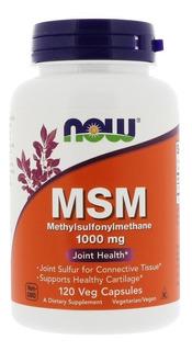 Msm - Metilsulfonilmetano - 1000mg 120 Cápsulas - Now Foods