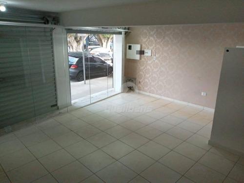 Salão Para Alugar, 80 M² Por R$ 2.400,00/mês - Jardim Pedroso - Mauá/sp - Sl0010