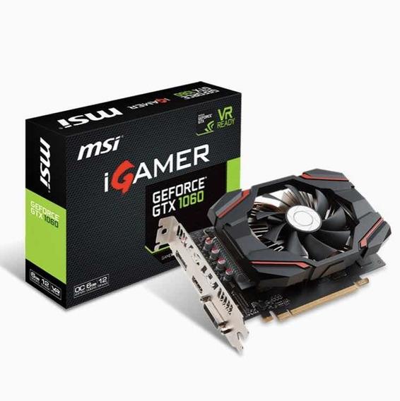 Igamer Msi Geforce Gtx 1060 Oc 6 Gb