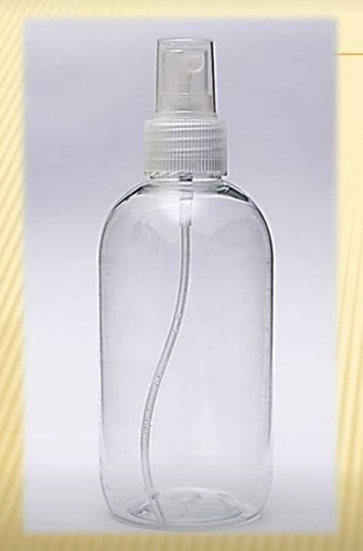 Imagen 1 de 1 de Envase Frasco Pet 250 Cc Atomizador, Spray, Perfume  (x 10)