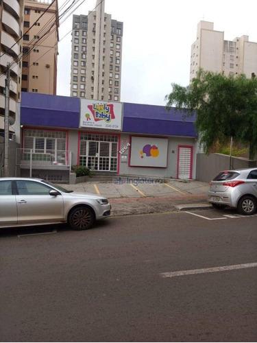 Imagem 1 de 15 de Casa Para Alugar, 221 M² Por R$ 5.000,00/mês - Centro - Londrina/pr - Ca2188