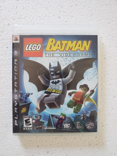 Lego Batman The Videogame Ps3 Mídia Física Seminovo