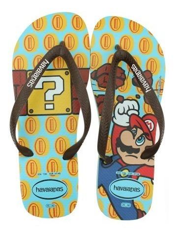 Havaianas Mario Bros Chinelo
