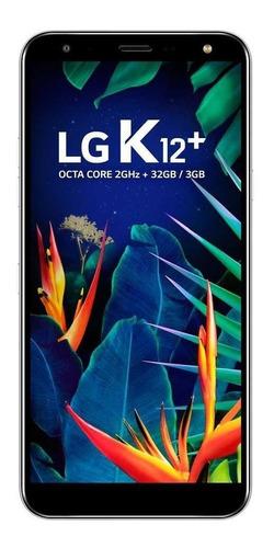 Imagem 1 de 4 de LG K12+ Dual SIM 32 GB platinum gray 3 GB RAM