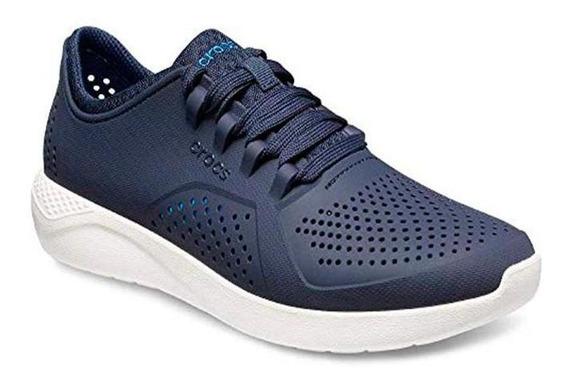 Zapatillas Crocs Literide Pacer Azul Marino Hombre