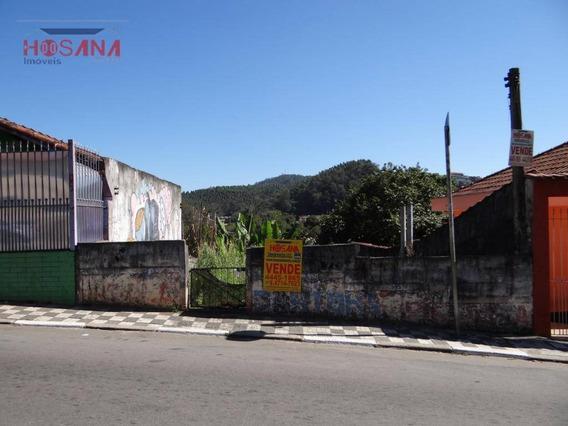 Terreno Residencial À Venda, Região Central, Caieiras. - Te0095