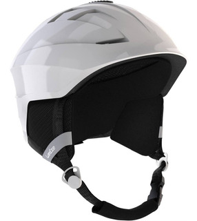 Capacete Adulto De Ski E Snowboard H300 Branco