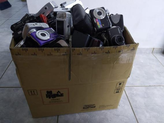 Lote De Câmeras Digitais Com 260 Unidades
