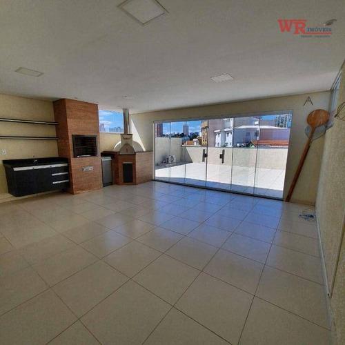 Imagem 1 de 19 de Cobertura Com 3 Dormitórios 1 Suíte À Venda, 170 M² Por R$ 615.000 - Vila Alice - Santo André/sp - Co0298
