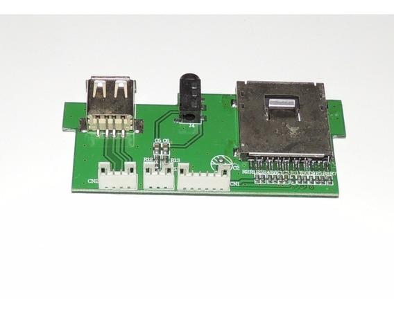 Placa Usb / Sd Card Micro System Lenoxx Md-268 Nova