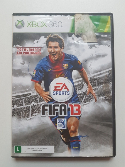 Capa Fifa Soccer 13 Original Para Xbox 360