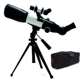 Telescópio Profissional Astronômico 350x60mm Refletor Tripé