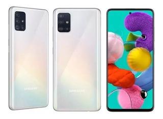Celular Samsung Galaxy A51 Dual Sim 4gb Ram 128mb Branco