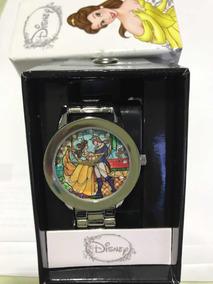 Relógio Bela E Fera Original Disney