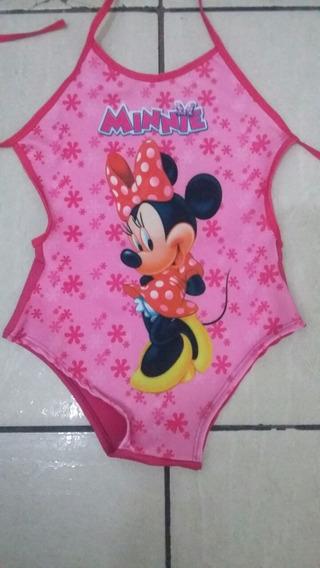 Maio Infantil Da Minnie (tam G)