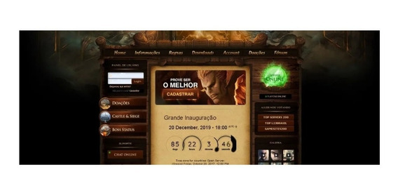 Site Lineage2 Off Completo