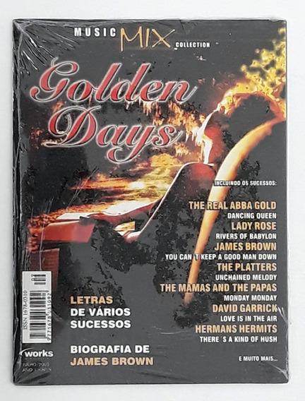 Revista Cd Music Mix Golden Days Abba Lady Rose James Brown