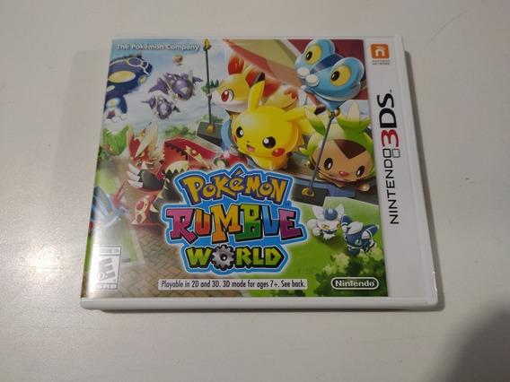 Jogo Pokémon Rumble Word Original Para 3ds