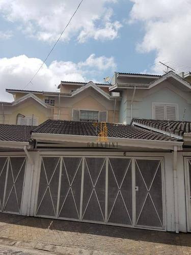 Casa Com 3 Dormitórios À Venda, 136 M² Por R$ 540.000,00 - Vila Euro - São Bernardo Do Campo/sp - Ca0059