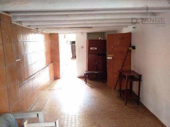 Casa Residencial À Venda, Centro, Campinas - Ca11033. - Ca11033