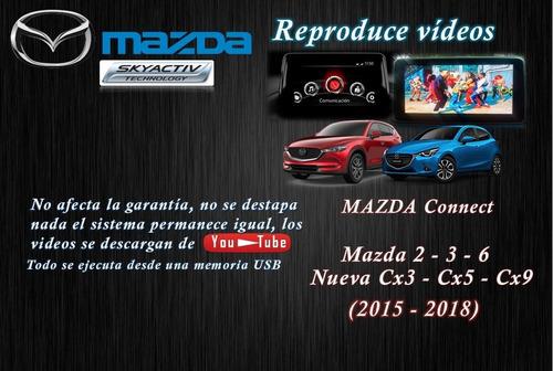 Reproducir Videos En Mazda Connect 2015-2018