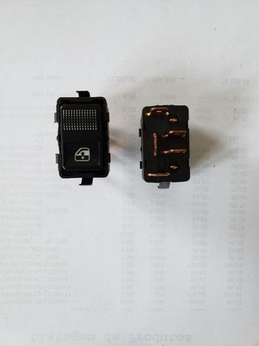Imagem 1 de 1 de Interruptor Vidro Eletrico Santana 91/ -  Led Vermelho