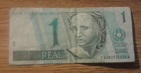 Billete De 1 Real Brasil