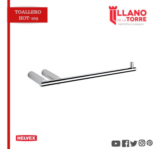Toallero Hot-109 Cromo