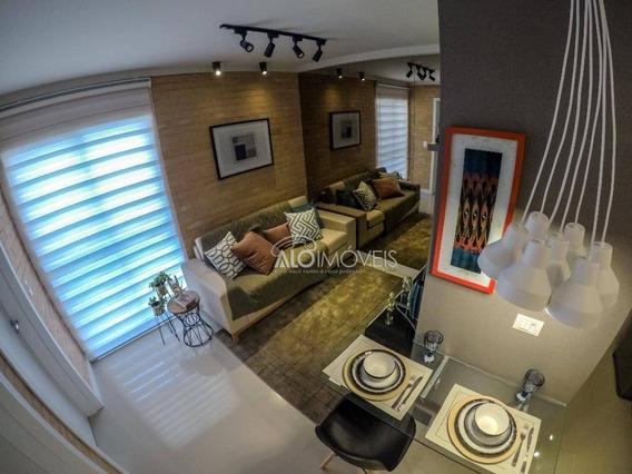 Apartamento Com 1 Dormitório À Venda, 35 M² Por R$ 230.000,00 - Portão - Curitiba/pr - Ap0008