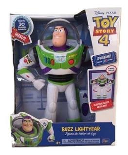 Buzz Lightyear 30 Sonidos Toy Story 4 Figura Lujo