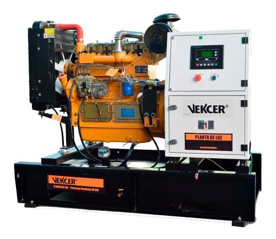 Planta Generador De Luz 60hp Vekcer Gdt35stuk60 Envío Gratis