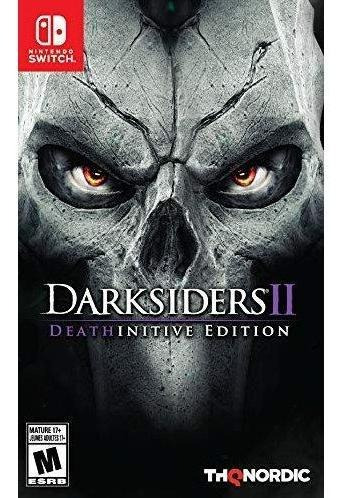 Darksiders Ii Deathinitive Edition Switch Mídia Física Novo