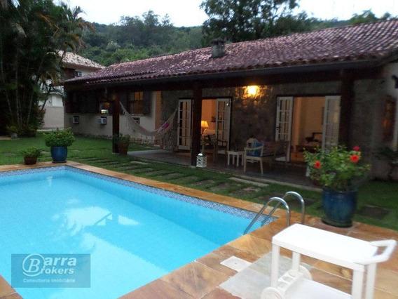 Casa Residencial À Venda, Itanhangá, Rio De Janeiro. - Ca0771