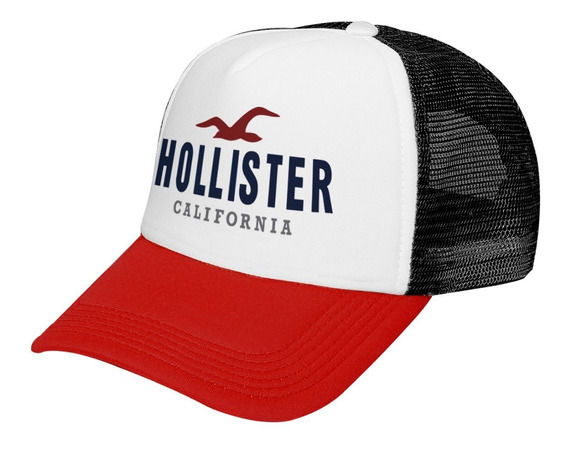 Gorra Trucker Calidad Premium Hollister California Logo