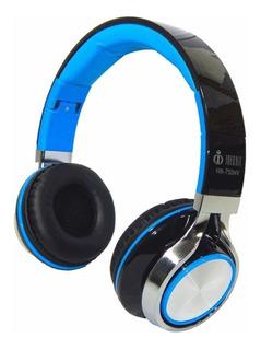 Fone Ouvido Headfone C/ Fio P2 Bass Celular Preto Microfone