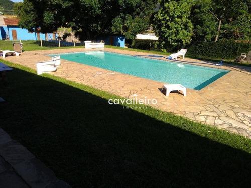Bela Casa Com Lazer Completo E 2.500m2 De Terreno - Ca3484