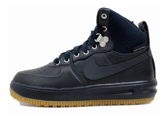 Tênis Nike Lunar Force 1 Sneakerboot Gs Dark Obsidian