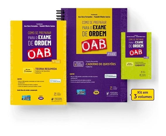 Como Se Preparar Para O Exame De Ordem Oab 2ª Edição (2020)