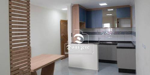 Cobertura Com 2 Dormitórios À Venda, 100 M² Por R$ 378.000,00 - Vila Assunção - Santo André/sp - Co11078
