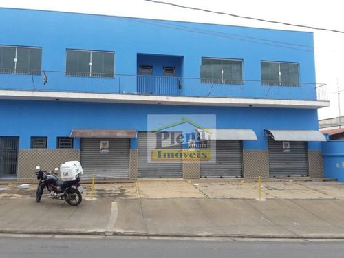 Sala Para Alugar, 120 M² - Vila Real - Hortolândia/sp - Sa0250
