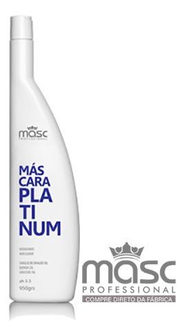 Imagem 1 de 1 de Máscara Matizadora Platinum - 1000g