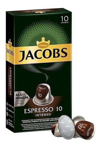 Cápsulas Nespresso Compatibles Café Jacobs Espresso Intenso