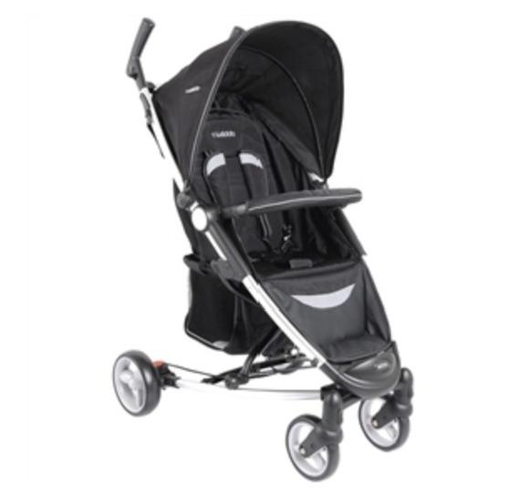 Carrinho De Bebê Helios Preto Kiddo + Bebê Conforto Casulo