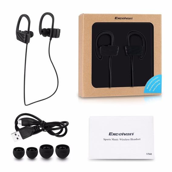 Headset Bluetooth Excelvan Esporte/sport Intra Auricular