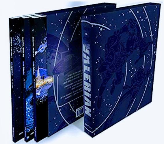 Box Livro Valerian - Volume 1,2 E 3 - Novo E Lacrado