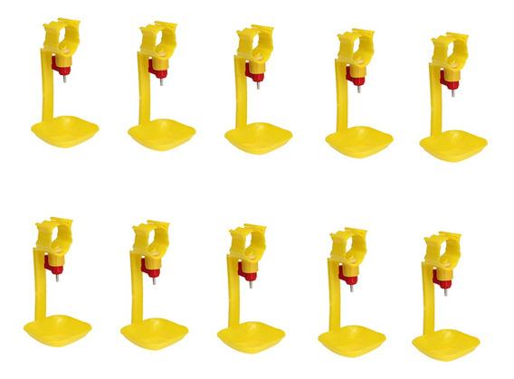 10pcs Aves Domésticas Água Bebida Cups- Frango , Galinha -