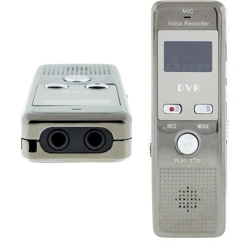 Gravador De Voz Com Fone Ouvido Audio Digital Aparelhos Bd2