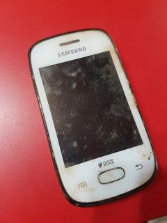 Celular Samsung Galaxy Gt S5312 Para Retirar Peças Não Liga.